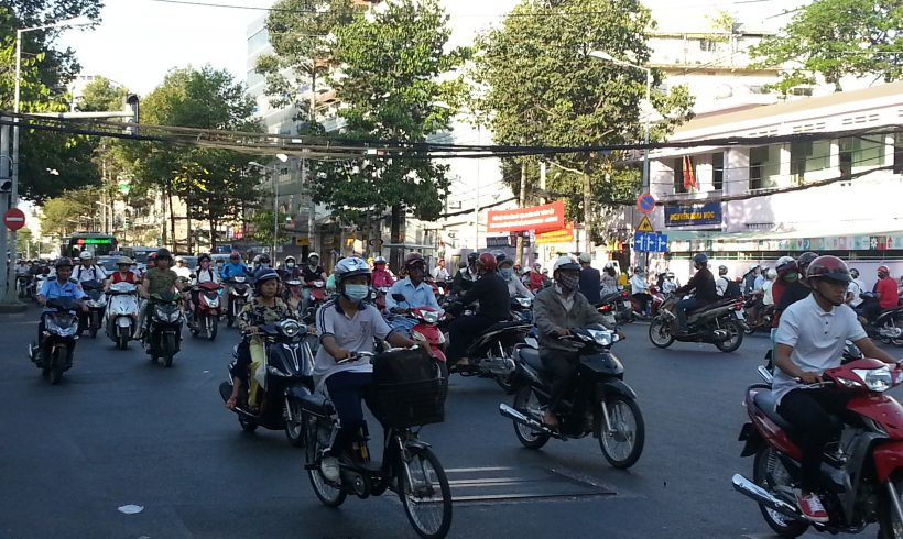 If you can cross a street in Saigon you can realise your dreams
