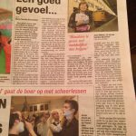 """""""Maybe it's easier to give than to receive"""", Dutch newspaper De Telegraaf"""