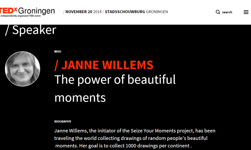 Janne was a speaker at TEDxGroningen!