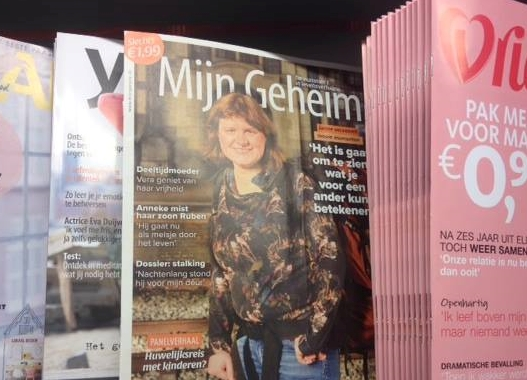 """Even sad moments can be beautiful"": interview for Dutch magazine 'Mijn Geheim'"