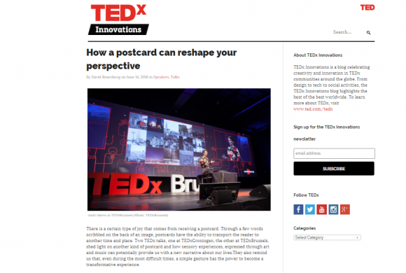 TEDx Innovations