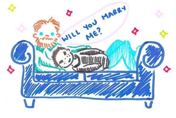 pete proposing