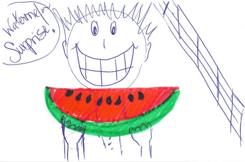 Water Melon Surprise