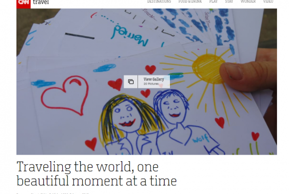 CNN: Traveling the world, one beautiful moment at a time